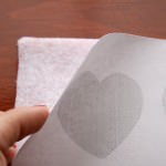 15 layer the heart paper on top