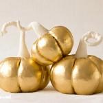 декоративни тикви злато и сребро