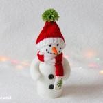 снежен човек от полар