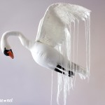 декорация за стена лебед swan wall decoration