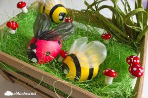 великденски яйца калинка пчеличка