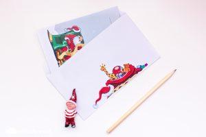 писмо до Дядо Коледа шаблон